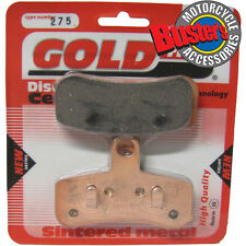 FXDSE 1802 Screaming Eagle Dyna CVO 2007 Sintered Motorcycle Front Brake Pads