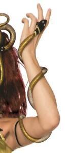 Medusa Snake Arm Wrap Mythical Creatures Fancy Dress Halloween Costume Accessory