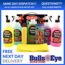 Demon Shine Complete Car Cleaning Valeting Gift Pack DGP001 8 Pack 1 Litre