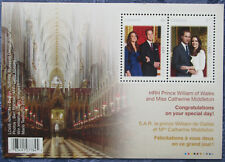 2011 Canada Mint Stamp set,William and Catherine's Wedding,Unmounted Pack w/ COA