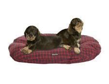 Couchage, paniers et corbeilles coussins rouges coton pour chien