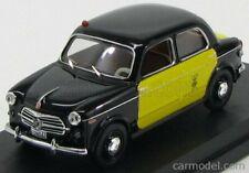 Rio-models 4449 scala 1/43 fiat 1100/103 taxi barcellona 1956 black yellow