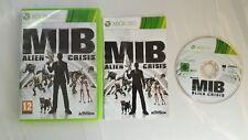 MIB ALIEN CRISIS XBOX 360 GAME MEN IN BLACK