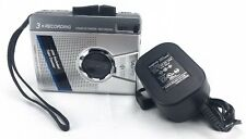 Sanyo Compact Cassette Tape Player and Recorder M-1280C with AC Adapter