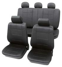 Luxury Leather Look Dark Grey Washable Seat Covers - Honda Accord 2006 Onwards