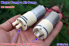 DC 12V-24V 370 Motor Oxygen Air Pump+370 Motor Self-Priming Suction Water Pump
