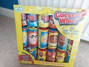 Guess Who? Christmas Crackers Novelty Board Game Hasbro Set of 6