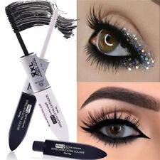 2 IN 1 New 4D Silk Fiber Eyelash Mascara Black Mascara Waterproof Silk Fiber