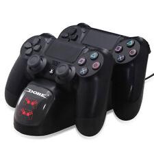 CARICATORE CONTROLLER PLAYSTATION DOPPIA STAZIONE DOCKS PS4 STAZIONE RICARICA