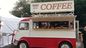 1958 CITROEN H VAN SAPA CONVERSATION COFFEE VAN FOOD TRUCK, DRIVES, STUNNING VAN