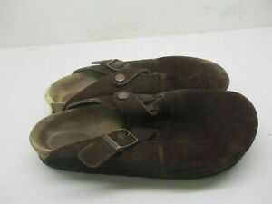 BIRKENSTOCK SHOES Women's Size 6 Comfort Brown Leather Slipper