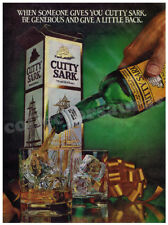 CUTTY SARK Blended Scotch Whisky advertisement A4 size HQ print