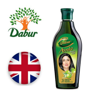 NEW Dabur Amla Hair Oil Stronger Longer Thicker Hair Silkly Sheen Scalp Strength