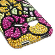 Green Pink Hawaiian Flower Case HTC Droid Incredible 4G LTE Fireball 6410 Cover