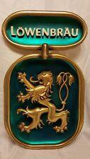 Vintage Lowenbrau Beer Sign *** RARE*** Miller Brewing