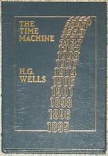 TIME MACHINE ~ H.G. WELLS ~ EASTON PRESS ~ LEATHER BOUND GIFT ED ~ ILLUS