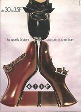 pubblicità 1970 Scarpe ERAM Atleti con tacchi