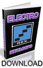 ELECTRO REX LOOPS - REASON REFILL - CUBASE - PRO TOOLS - LOGIC - ABLETON