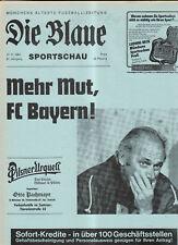 BL 83/84 FC Bayern München - Hamburger SV (Blaue)
