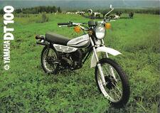 Yamaha DT100 Sales Brochure, 1981 Original NOS