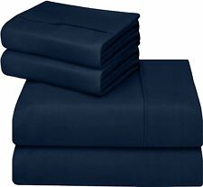 Bed Sheets & Pillow Cases -Complete Set 4pc Bed Sheet Set By Utopia Bedding