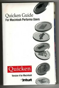 Intuit - Quicken Users Guide - Version 4 for Macintosh Performa Users