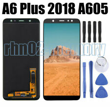 Per Samsung Galaxy A6 Plus 2018 A605 Display LCD Touch Screen Digitizer Nero RHN