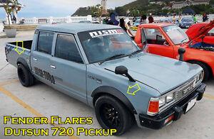 JDM Fender Flares Wheel arch metal for Datsun 720 Nissan 720 Pick up