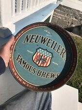 Antique Neuweiler's Brewery Beer Patriotic Tray Allentown Pa