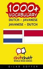 1000+ Dutch - Javanese Javanese - Dutch Vocabulary by Gilad Soffer (2016,.