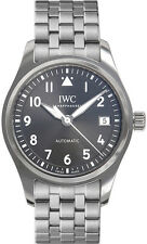 IW324002 | NEW IWC PILOTS AUTOMATIC 36 GRAY DIAL STAINLESS STEEL MEN'S WATCH