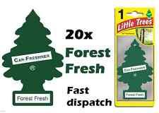 "MAGIC TREE""LITTLE TREE"" FOREST FRESH FRAGRANCE CAR AIR FRESHENER PACK OF 20"