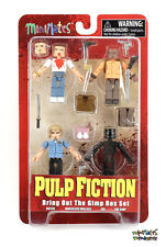 Pulp Fiction Minimates Bring Out the Gimp Box Set