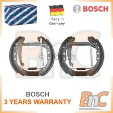 BOSCH REAR BRAKE SHOE SET VW AUDI SEAT OEM 0204114634