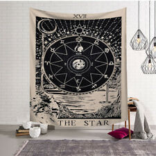 "Tarot Card The Star XVII Tapestry Wall Hanging Yoga Beach Mat 38"" HI"