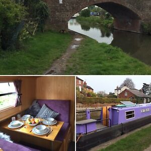 Self Catering:5 Days (4Nts) Canal Boat Holiday Hire,family &Couples £765