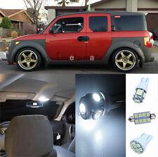 New Premium White Light SMD Interior LED Package Kit For Honda Element 2003-2006