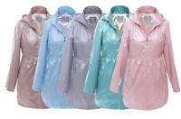 Drystar Womens Waterproof Festival Jackets, Rain Mac Ladies coat Womens Jacket