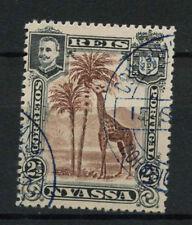 NYASSA entreprise 1901 SG # 27, 2.5 R girafe utilisé voie PI3.5 #A 68099