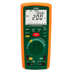 Extech MG325 Insulation Tester/TRMS DMM with 1000V/200GOhm & CAT IV