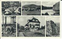"""Ansichtskarte Braunlage / Oberharz """"Kinderheim Monich - Haus Heimburg"""" s/w"""