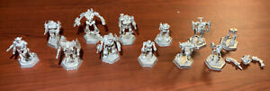 Battletech Iron Wind Metals 12 Mech Lot. Wolverine, Griffin, Awesome + More