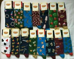 Mens Bamboo Socks Novelty Secret Santa Xmas Gift Design Stocking Filler BNWT New