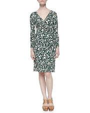 Tory Burch  Dress Size M   NWT Michele Vine Jersey Draped  $350