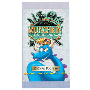 STEVE JACKSON GAMES MUNCHKIN COLLECTIBLE CARD GAME BOOSTER PACKS TRADING PLAY