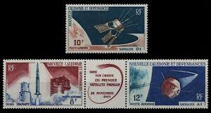 Neukaledonien 1966 - Mi-Nr. 418-419 & 421 ** - MNH - Raumfahrt / Space