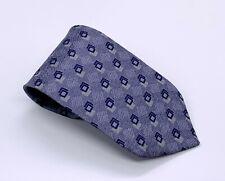 Tie Rack Charleston Tie Blue on Blue Polka Dot Silk 59 x 3.5 Italy 1700 Ties