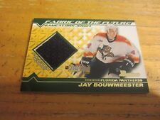 Jay Bouwmeester 2002-03 Bowman YoungStars Jerseys #JB Relic Card NHL Panthers