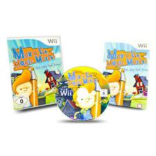 Nintendo Wii Spiel Max & The Magic Marker Run Jump Think Draw in OVP mit Anleitu