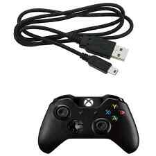 Xbox One Black Controller Cable Charger Micro USB Sync Data Lead 1M 1.8M 3M 5M
